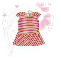 Платье для девочки ТМ Фламинго, кулир (артикул 526-117)
