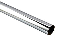 Труба хромированная 3 м.,диам 25 мм., толщ. 1.00 мм.