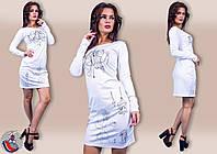 """Стильное молодежное платье мини """" Люстра """" Dress Code"""