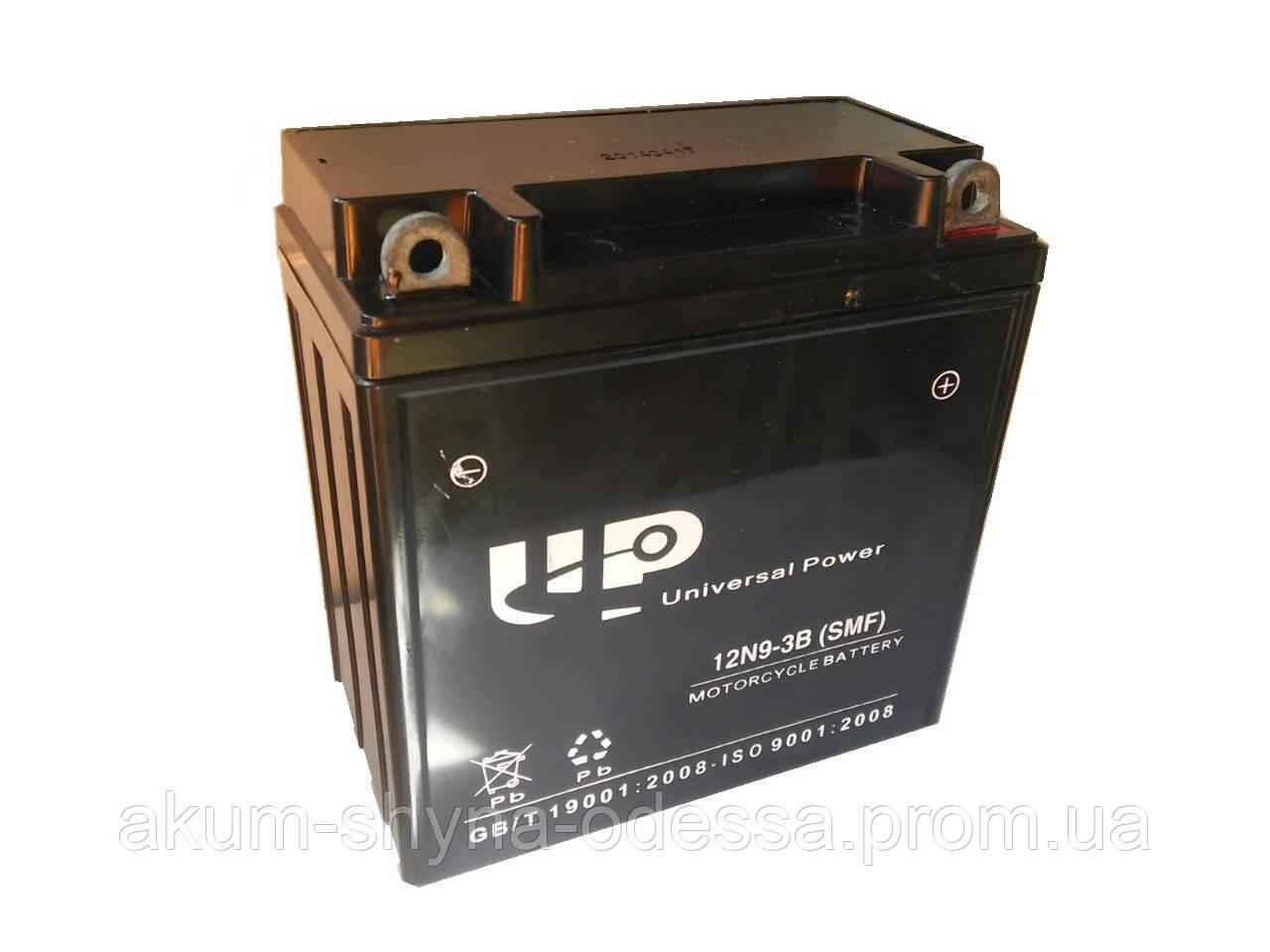 АКБ MOTO 12N9-3B (GEL) UP (12V, 9A)