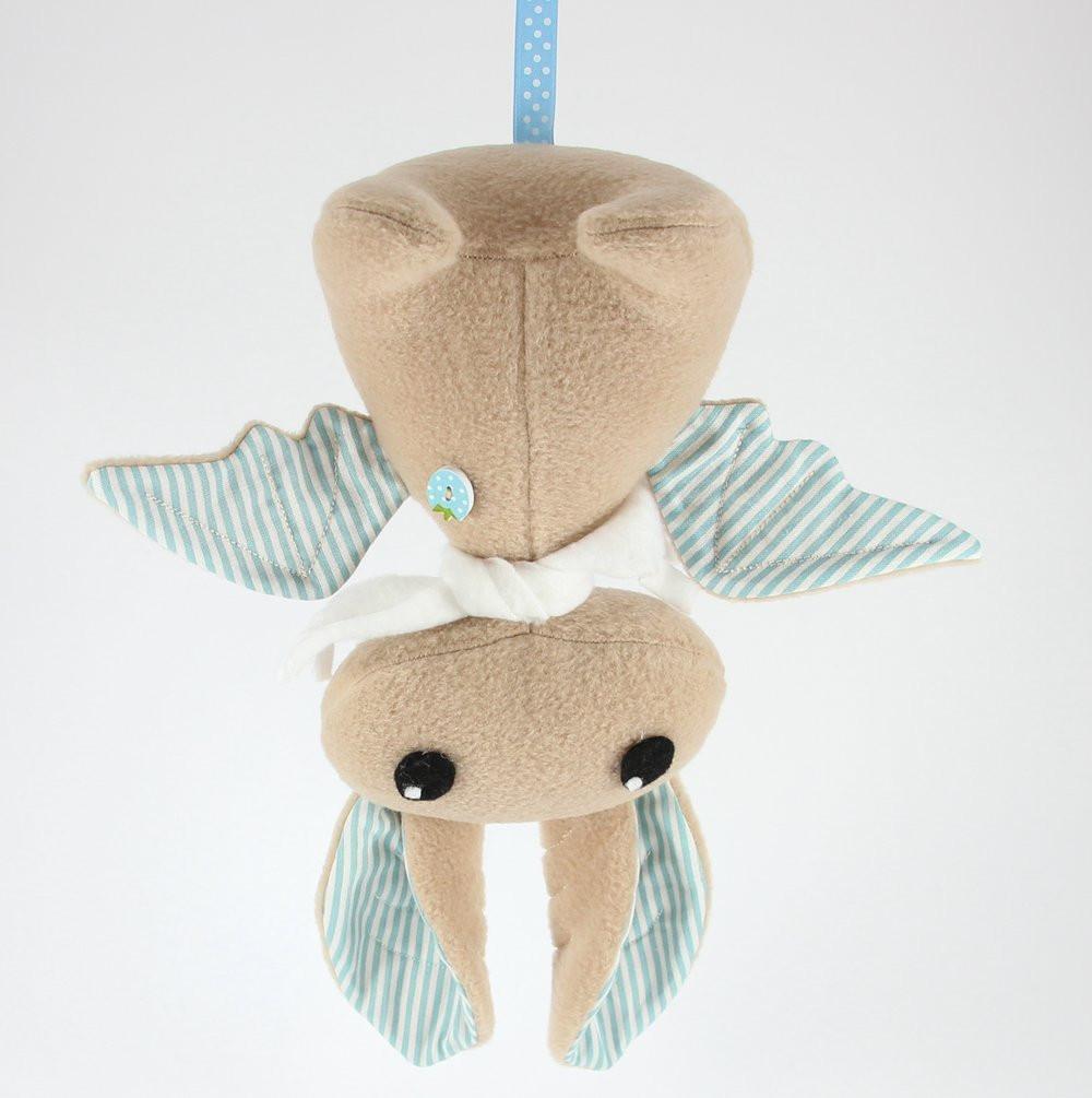 Плюшевая Летучая мышь (Бежевый), Sunny Bunny
