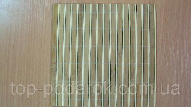 Серветка бамбукова розмір 18*18