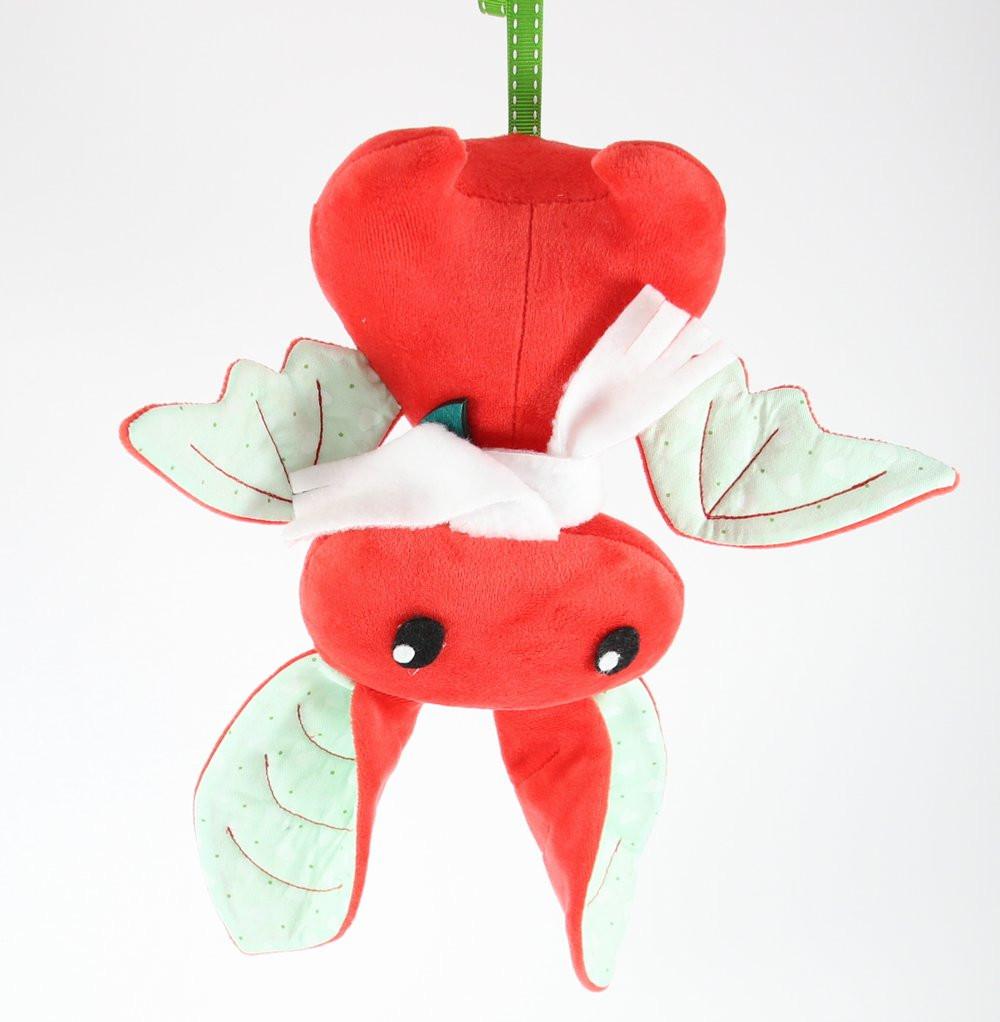 Плюшевая Летучая мышь (Красный), Sunny Bunny