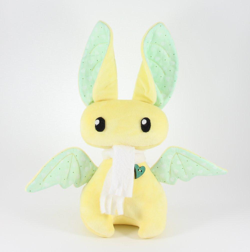 Плюшевая Летучая мышь (Желтый), Sunny Bunny