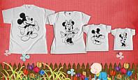 Одинаковые футболоки для мамы, папы и малыша Family look