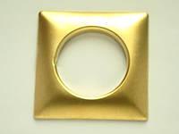 Люверс 39 мм квадро  золото Marcin Decor