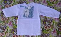 """Кофточка (вышиванка) на завязках для новорожденного, коллекция """"Украинец"""""""