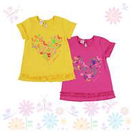 Платье для девочки ТМ Фламинго, кулир (артикул 487-114)