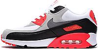 Женские кроссовки Nike Air Max 90 (найк аир макс 90) белые