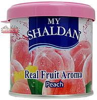 Освежитель гелевый MY SHALDAN ♨ аромат Peach  ✓ 80 гр. ⚠ Тайланд