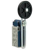 Выключатель концевой с пластиковой консолью и резиновым роликом d=50mm с возможностью регулирования высоты (1