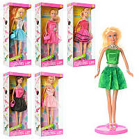 Кукла defa 8272  29см, сумочка, , в коробке-ке, 13-32-6см