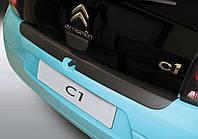 Накладка заднего бампера Citroen C1 3 / 5 Dr 2014>, заказ. № RBP780