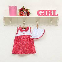 Платье для девочек ТМ Фламинго, интерлок (артикул 145-222)