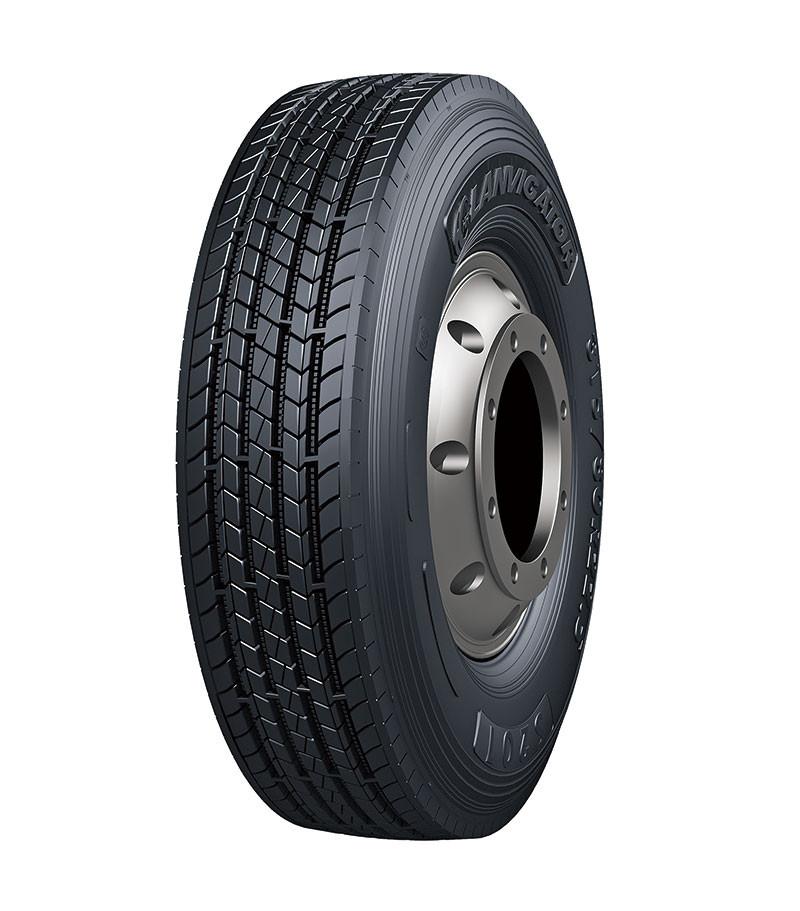 Грузовые шины 245/70R19.5 136/134M S201 LANVIGATOR рулевая, усиленные грузовые шины на переднюю ось грузовика