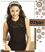Безрукавка классика женская с гипюровой верхней вставкой Ozkan e32b09f039c48