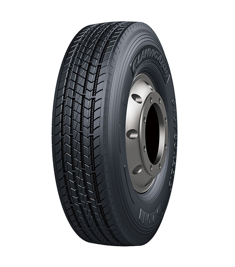 Грузовые шины 235/75R17.5 143/141J S201 LANVIGATOR рулевая, усиленные грузовые шины на переднюю ось грузовика