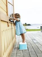 Стульчик – подставка BABYBJORN, бирюзовый цвет