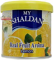 Освежитель гелевый MY SHALDAN ♨ аромат Lemon ✓ 80 гр. ⚠ Тайланд