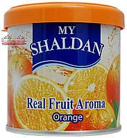 Освежитель гелевый MY SHALDAN ♨ аромат Orange  ✓ 80 гр. ⚠ Тайланд