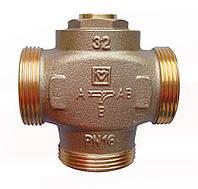 """Трехходовой термосмесительный клапан HERZ Teplomix DN32 1*1/2"""" 55°C (отключаемый байпас), фото 1"""