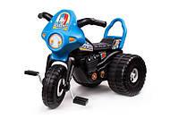 Трицикл детский велосипед пластмассовый Полиция Технок 4142