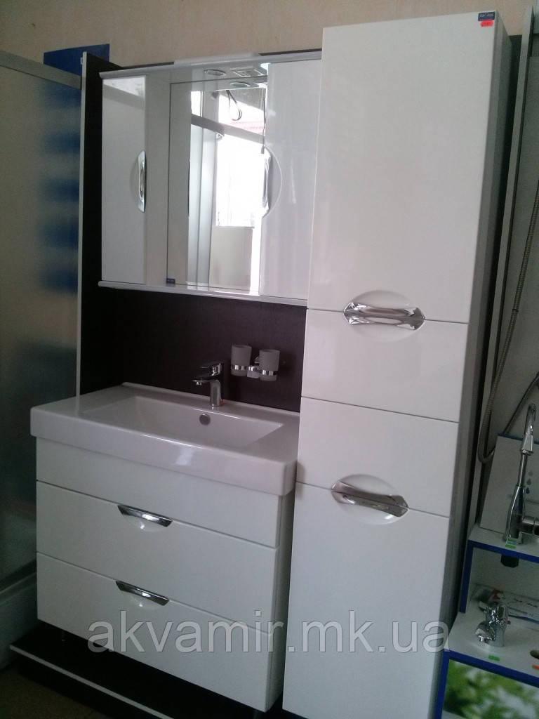 Комплект меблів для ванної кімнати Грація НІКОЛЬ 110 см