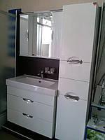 Комплект мебели для ванной комнаты Грация НИКОЛЬ 110 см