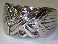 Золотое кольцо головоломка для мужчин от WickerRing