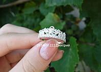 Кольцо из серебра Изысканная корона