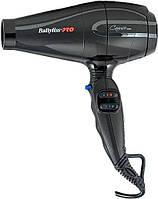 Фен с ионизацией BaByliss Pro BAB6510IRE Caruso Ionic 2200-2400W ,Рівне