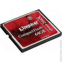 Карта Памяти Kingston CompactFlash 64GB Ultimate 266x (CF/64GB-U2)