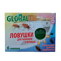 Ловушка тараканов Global, 6 дисков