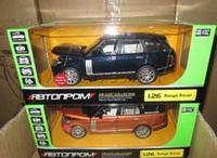 """Машина металлическая коллекционная """"Range Rover Vogue"""" Автопром 68263A КК,HN"""
