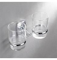Стакан стеклянный двойной для зубных щеток  RM1801