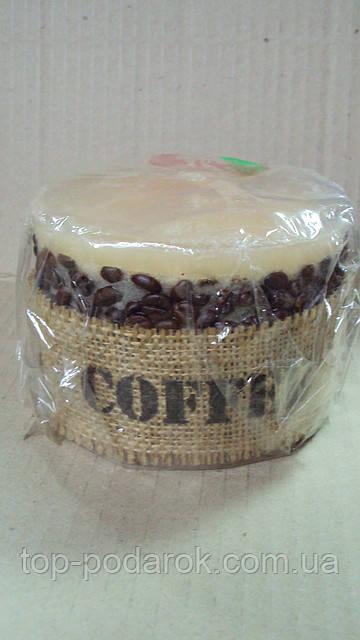 Свеча Кофе размер 12*12*10