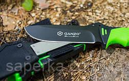 Нескладной нож с огнивом Ganzo G8012-LG, фото 2