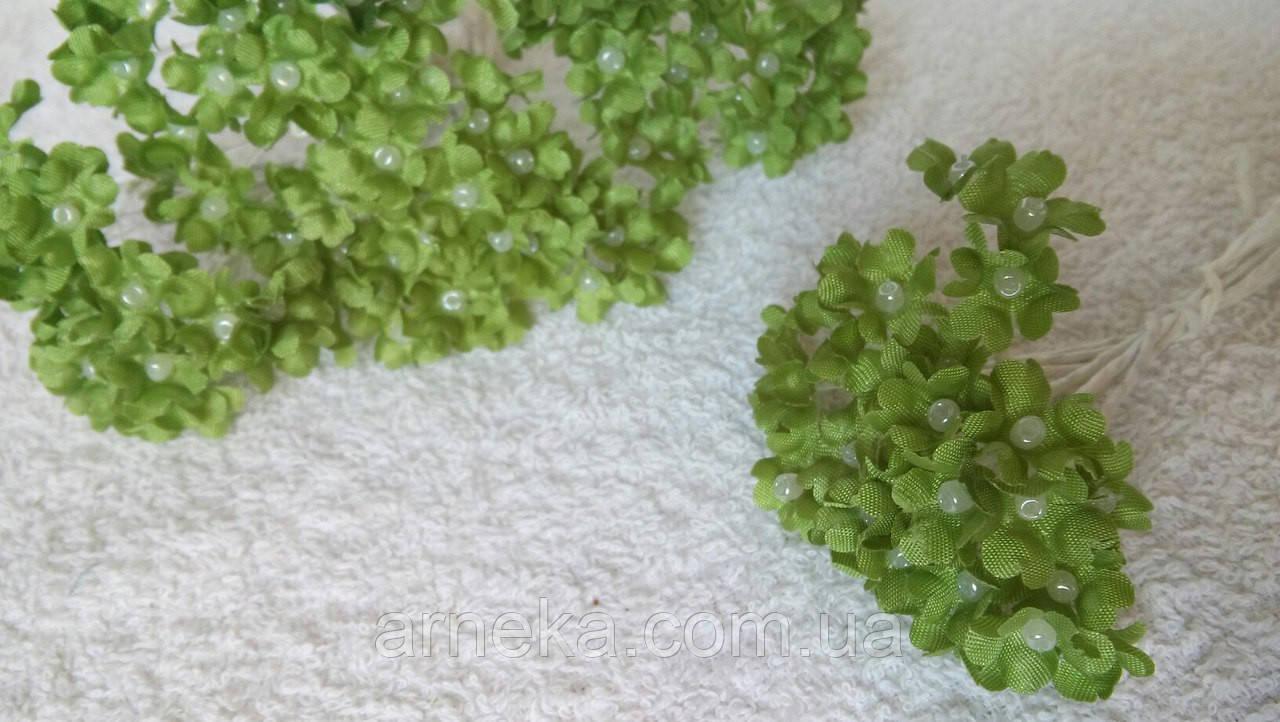 Цветы яблони (10 веточек) оливковые