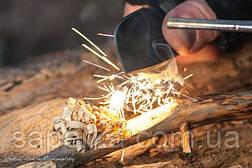 Нож с фиксированным клинком и огнивом Ganzo G8012-OR, фото 3
