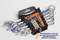 Набор ключей рожково-накидных CRV 6 шт., (8-17мм) MIOL арт.51-700, фото 1