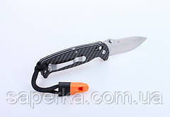 Нож складной с клипсой Ganzo G7411-CF-WS, фото 3