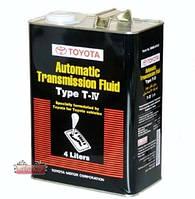 Масло для АКП Toyota ATF Type T-IV упаковка 4 литра