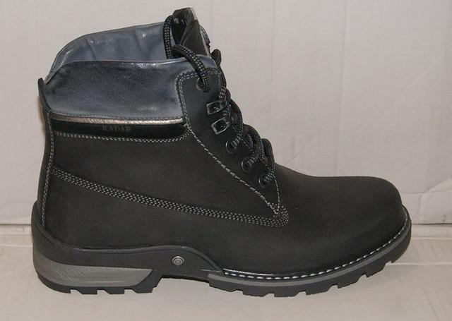 Зимові шкіряні черевики Kadar 3038