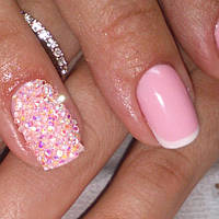 Хрустальная крошка для ногтей / Crystal Pixie, Clear АВ 200 шт