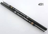 Карандаш для бровей  пудрово-восковый 401 (блонд)