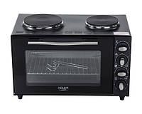Электрическая печь Adler AD 6011 Черная