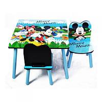 Деревянный столик со стульчиками BT-CWT-0004 Микки Маус   Baby Tilly