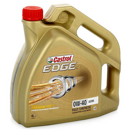 Моторное масло Castrol EDGE 0W40 FST 4 л, фото 2