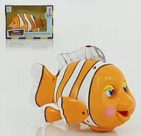 Сенсорная рыбка, свет, музыка