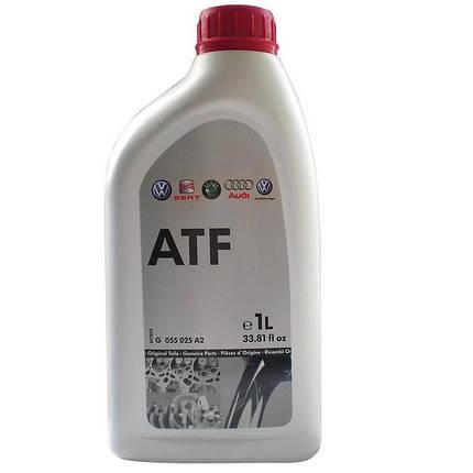 Масло трансмиссионное VAG ATF для 6-АКПП (G055025A2) 1 л, фото 2